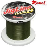 Momoi PE JigLine MX8 Moss Green