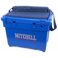 Mitchel zit/vis koffer blauw
