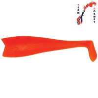 Halibut Shad Japanese red 18cm loose